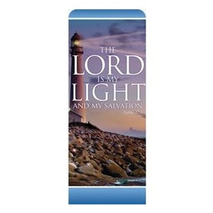 "Lord Is My Light 2'7"" x 6'7"" Sleeve Banners"