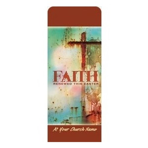 "Renewed Faith 2'7"" x 6'7"" Sleeve Banners"