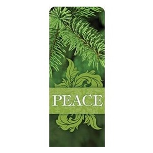 "Together for the Holidays Peace 2'7"" x 6'7"" Sleeve Banners"