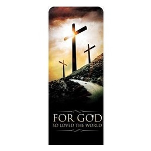 "Three Crosses Road 2'7"" x 6'7"" Sleeve Banners"