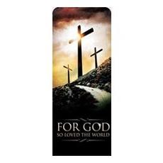 Three Crosses Road Banner