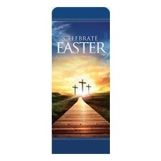 Easter Crosses Path Banner