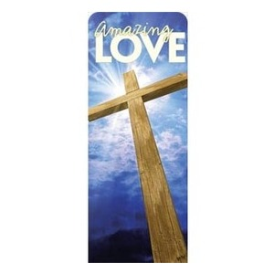"Amazing Love 2'7"" x 6'7"" Sleeve Banners"