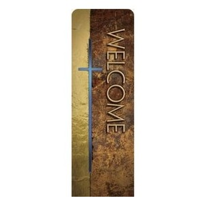 Leather Welcome 2 x 6 Sleeve Banner