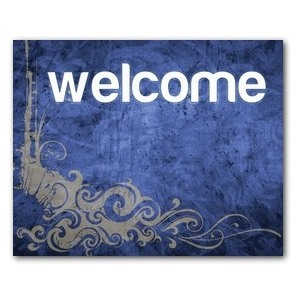Adornment Welcome  Jumbo Banners