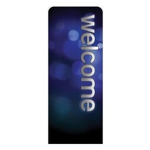 "Sparkle Welcome 2'7"" x 6'7"" Sleeve Banners"