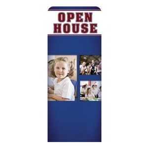 "Christian School Open House 2'7"" x 6'7"" Sleeve Banners"