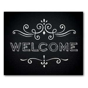 Chalk Welcome Banners