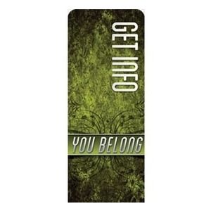 "You Belong Information 2'7"" x 6'7"" Sleeve Banners"