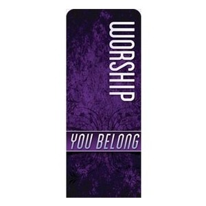 You Belong Worship Banners