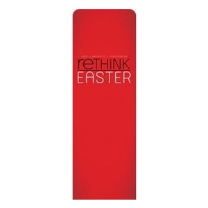 Rethink Easter 2 x 6 Sleeve Banner