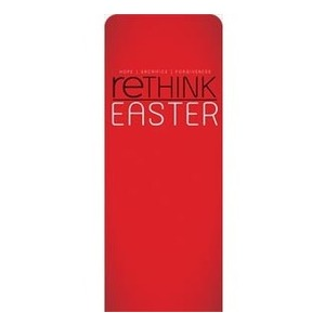 "Rethink Easter 2'7"" x 6'7"" Sleeve Banners"