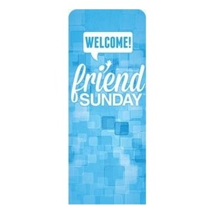 Friend Sunday Welcome Banners