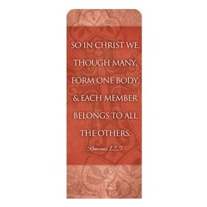 "Cross Rom 12:5 2'7"" x 6'7"" Sleeve Banners"