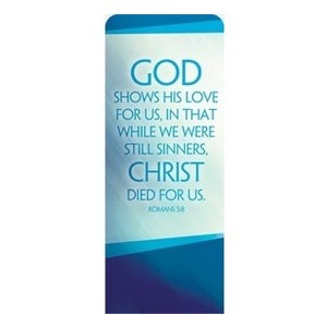 "Color Rays Rom 5:8 2'7"" x 6'7"" Sleeve Banners"