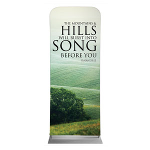 "Reflections Hills 2'7"" x 6'7"" Sleeve Banners"