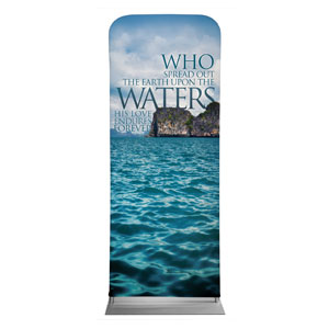 "Reflections Waters 2'7"" x 6'7"" Sleeve Banners"