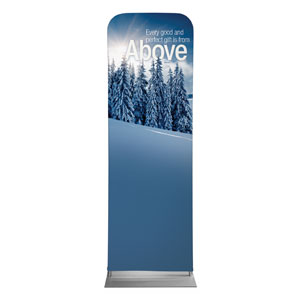 Reflections Above 2 x 6 Sleeve Banner