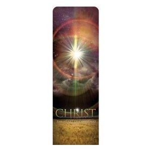 Christ the Heart 2 x 6 Sleeve Banner