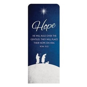 "Advent Hope 2'7"" x 6'7"" Sleeve Banners"