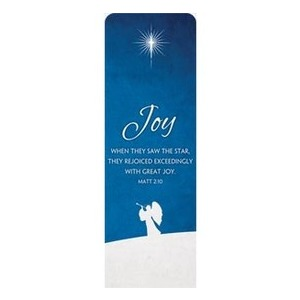 Advent Joy 2 x 6 Sleeve Banner
