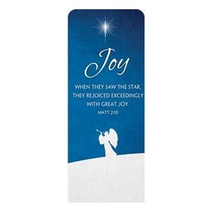 "Advent Joy 2'7"" x 6'7"" Sleeve Banners"