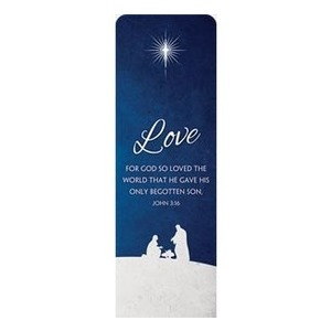 Advent Love 2 x 6 Sleeve Banner