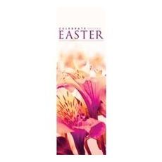 Celebrate Easter Flowers Banner