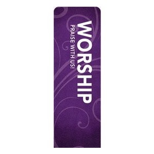 Flourish Worship 2 x 6 Sleeve Banner