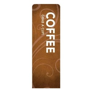 Flourish Coffee 2 x 6 Sleeve Banner