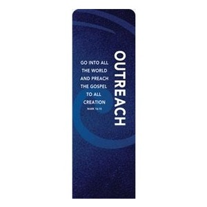 Flourish Outreach 2 x 6 Sleeve Banner
