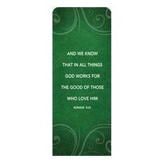 Flourish Rom 8:28 Banner