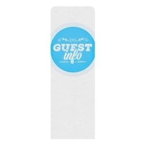 Guest Circles Info Blue Banners