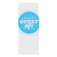 Guest Circles Info Blue Banner