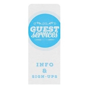 Guest Circles Services Blue Banners