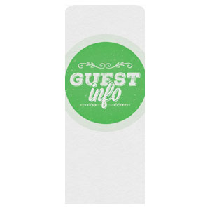 Guest Circles Info Green Banners