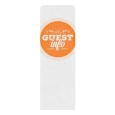 Guest Circles Info Orange Banner