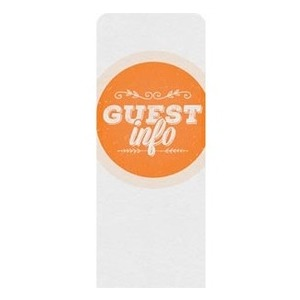Guest Circles Info Orange Banners
