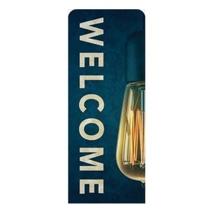 Retro Light Welcome Banners