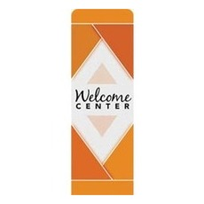 Welcome Diamond Orange