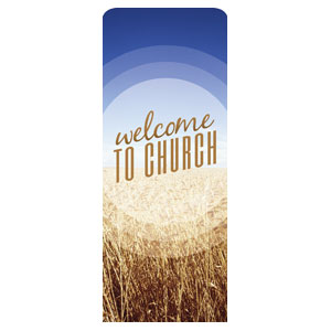 Season Welcome Wheat Banners