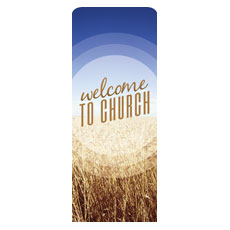 Season Welcome Wheat Banner