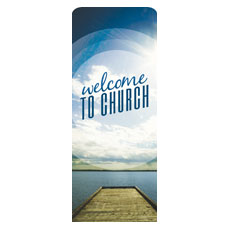 Season Welcome Lake Banner