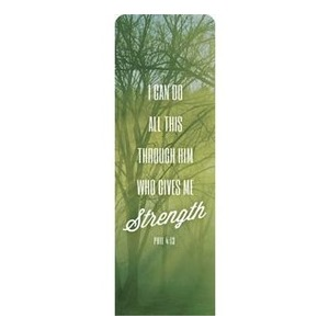 Phrases Phil 4:13 2 x 6 Sleeve Banner