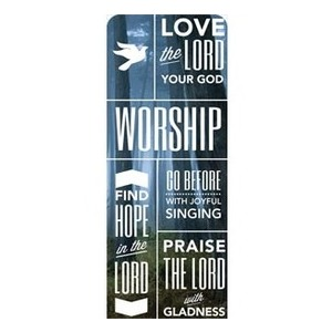 Phrases Worship Banners