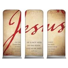 Jesus Triptych Banner