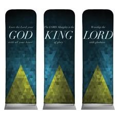 Majesty Triptych Banner