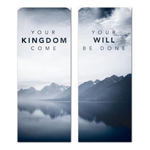 "Your Kingdom  2'7"" x 6'7"" Sleeve Banners"