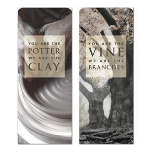 "Potter And Vine   2'7"" x 6'7"" Sleeve Banners"