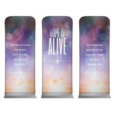 Hope Is Alive Triptych Banner